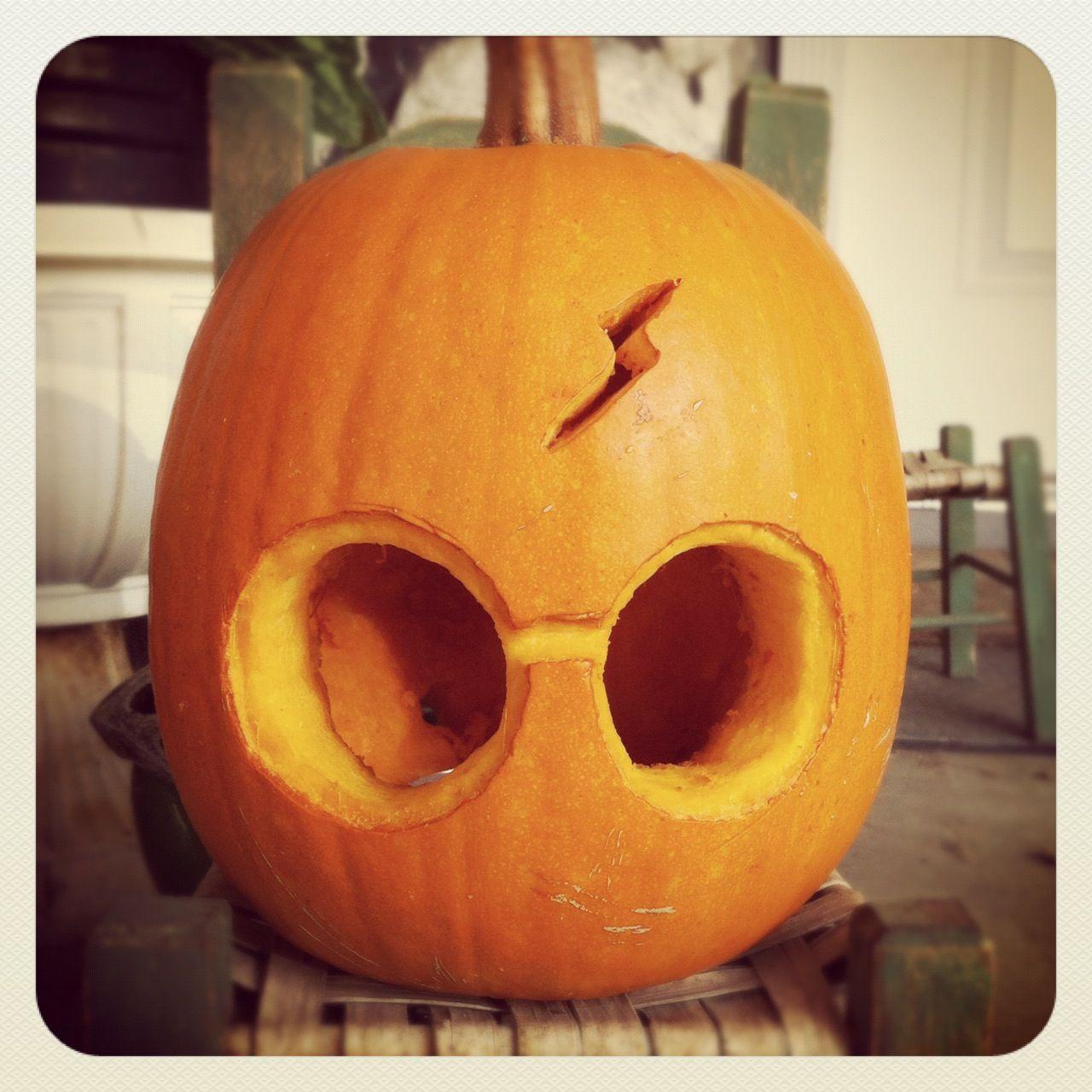 Harry potter pumpkin carving, by my sister Karina Monroy