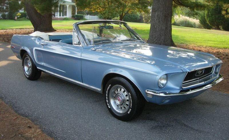 1968 Blue Mustang Convertible Love Blue Mustang Dream Cars 1968 Mustang Gt