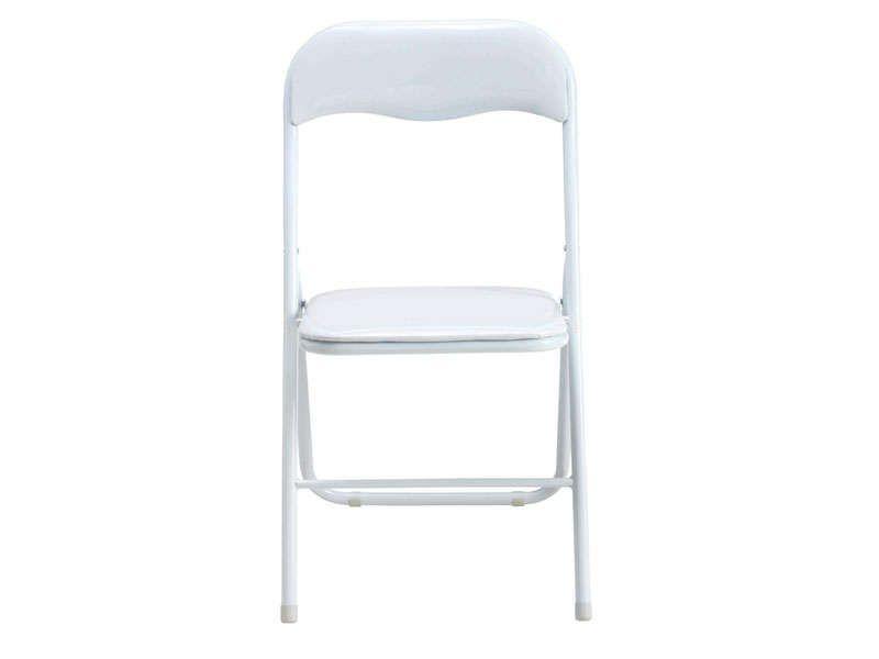 étourdissant Chaise Pliante Blanche Pas Cher Décoration - Chaise beige conforama pour idees de deco de cuisine