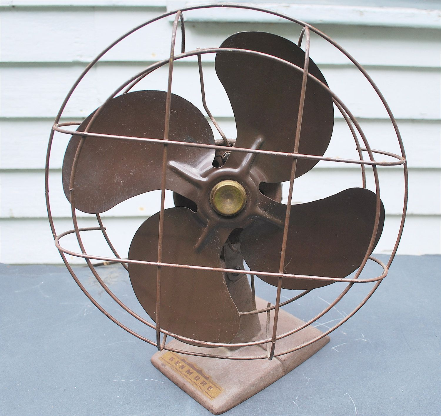 1954 Sears & Roebuck Kenmore Oscillating Fan vintage