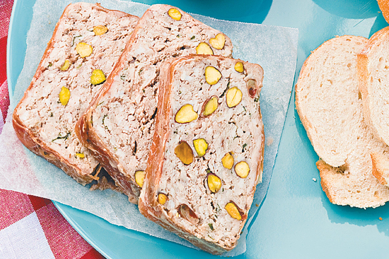 Turkey and pistachio terrine | Food recipes, Mince recipes ...