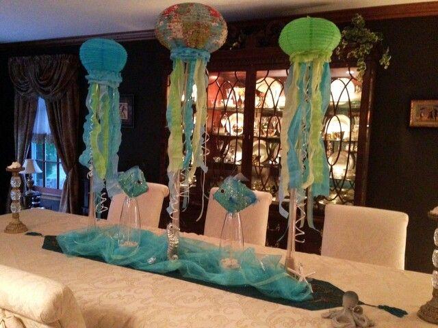 Paper Lanterns Make Great Jellyfish Centerpieces For Under