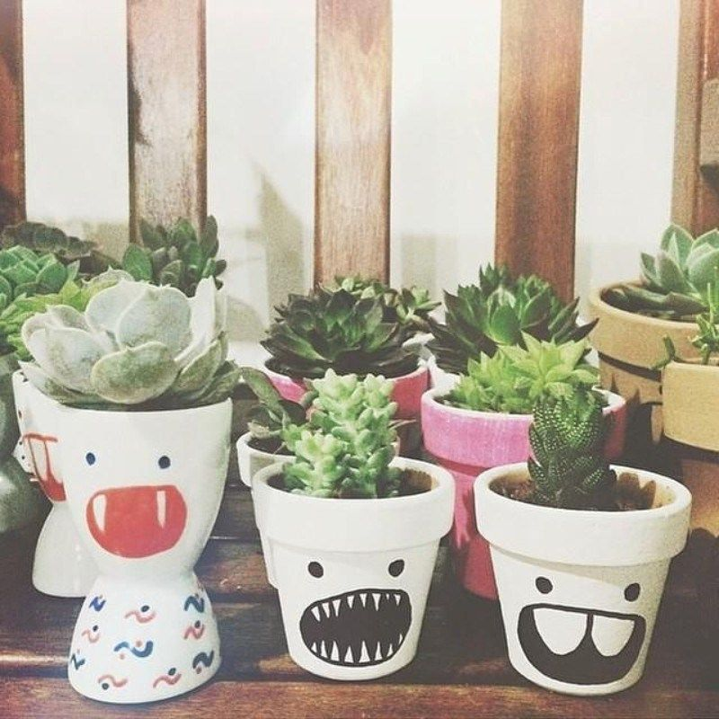22 Creative Diy Terracotta Pot Painting Ideas Painted Plant Pots