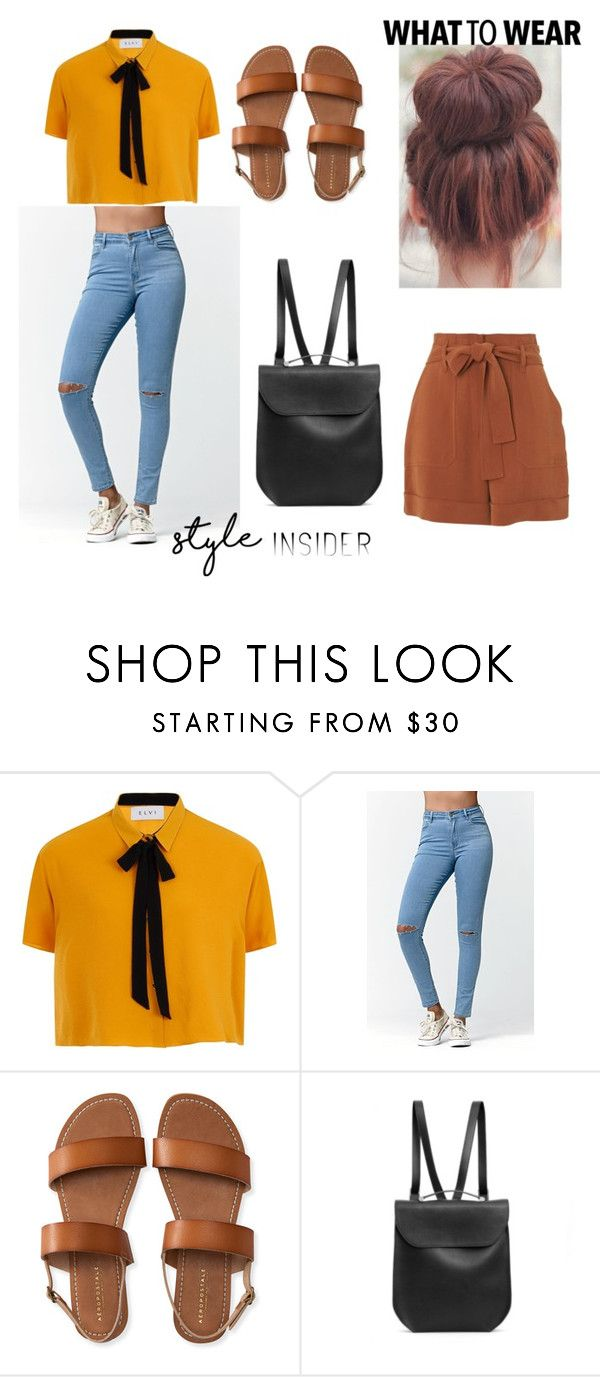 """""""Messy Bun and gettin stuff done"""" by style-insid on Polyvore featuring moda, Elvi, Bullhead Denim Co., Aéropostale, GRETCHEN y Whistles"""