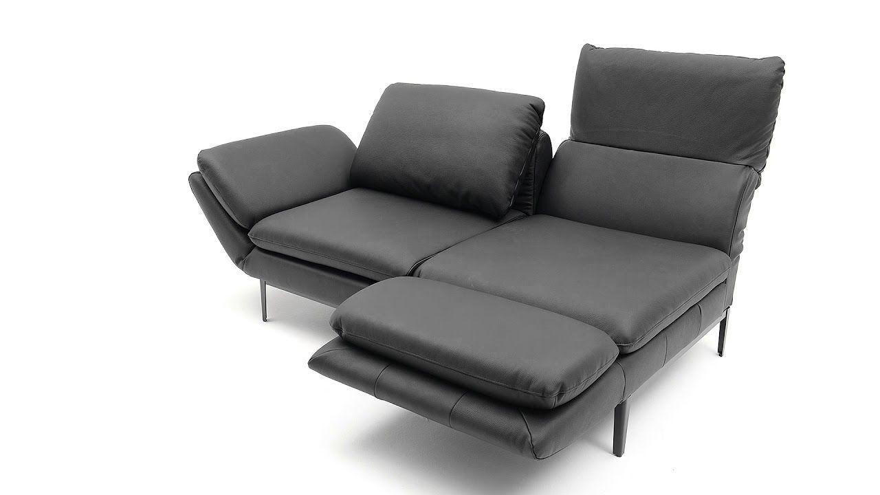 Ewald Schillig Brand Sofa Dolce Mit Funktion Ruckenfunktion
