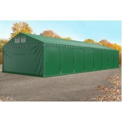 Photo of Lagerzelt 6×24 m – 2,6 m Seitenhöhe, Pvc 550 g/m², mit Bodenrahmen Unterstand, Lager Toolport