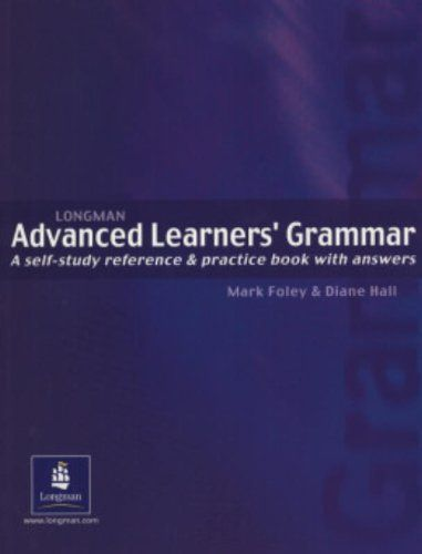 Longman advanced learners grammar a self study reference and longman advanced learners grammar a self study reference and practice book with answers fandeluxe