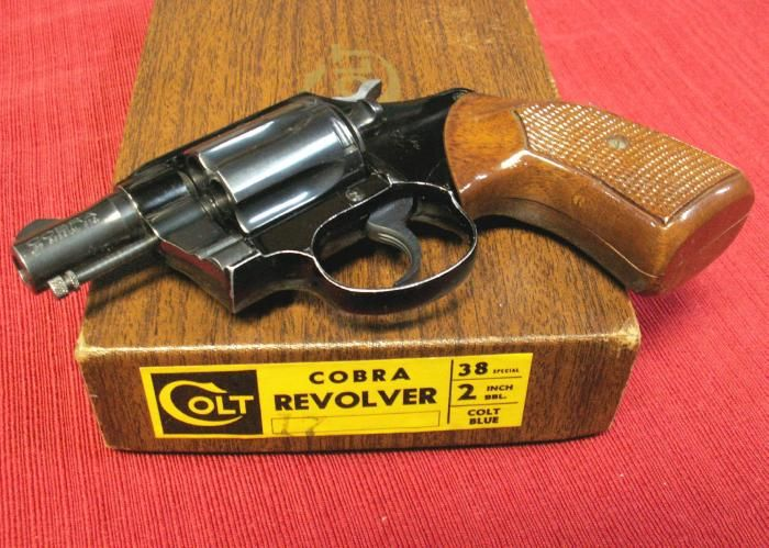 The Cobra, .38 Special of Colt's snake series revolvers.