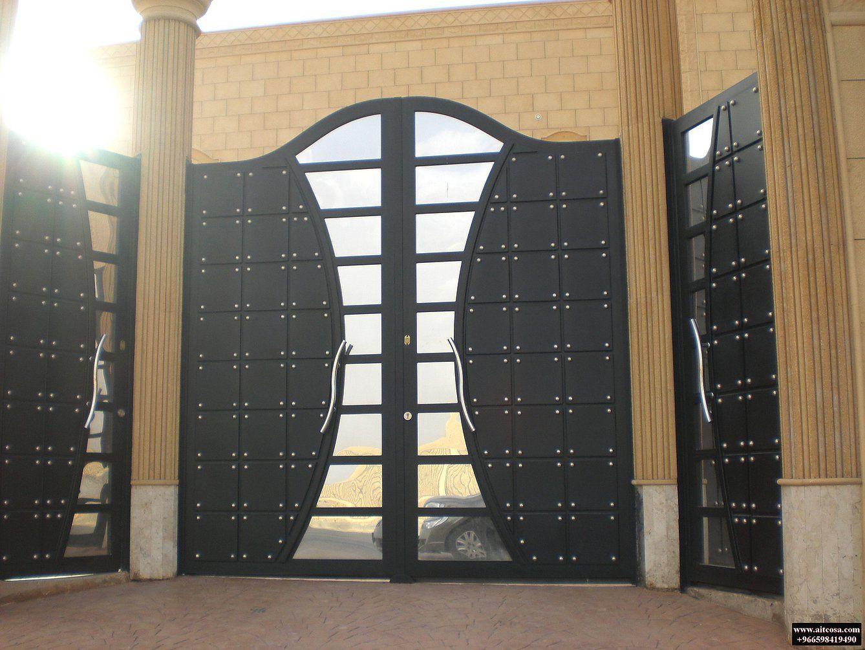 Pin By Aitco On ابواب خارجية Door Design Gate Design Amazing Gates