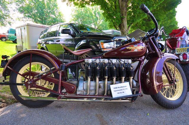 The 1930 Henderson Inline 6 Cylinder