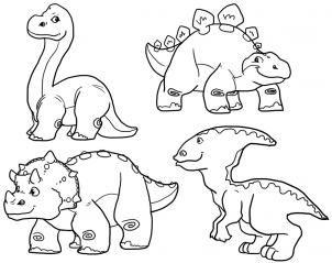 How To Draw Cute Dinosaurs Cute Dinosaurs By Mauacheron