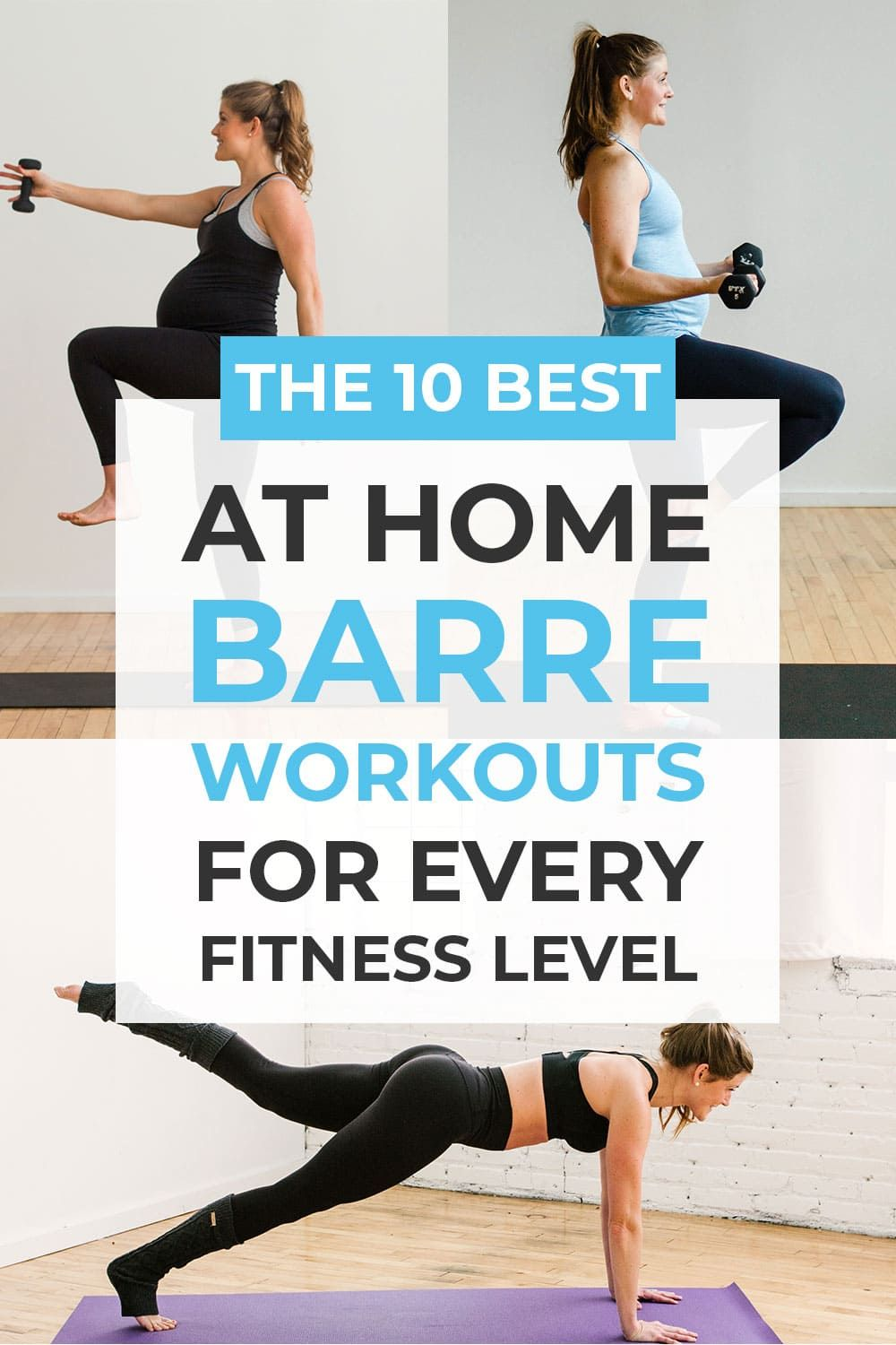 10 Barre Workouts For Every Fitness Level