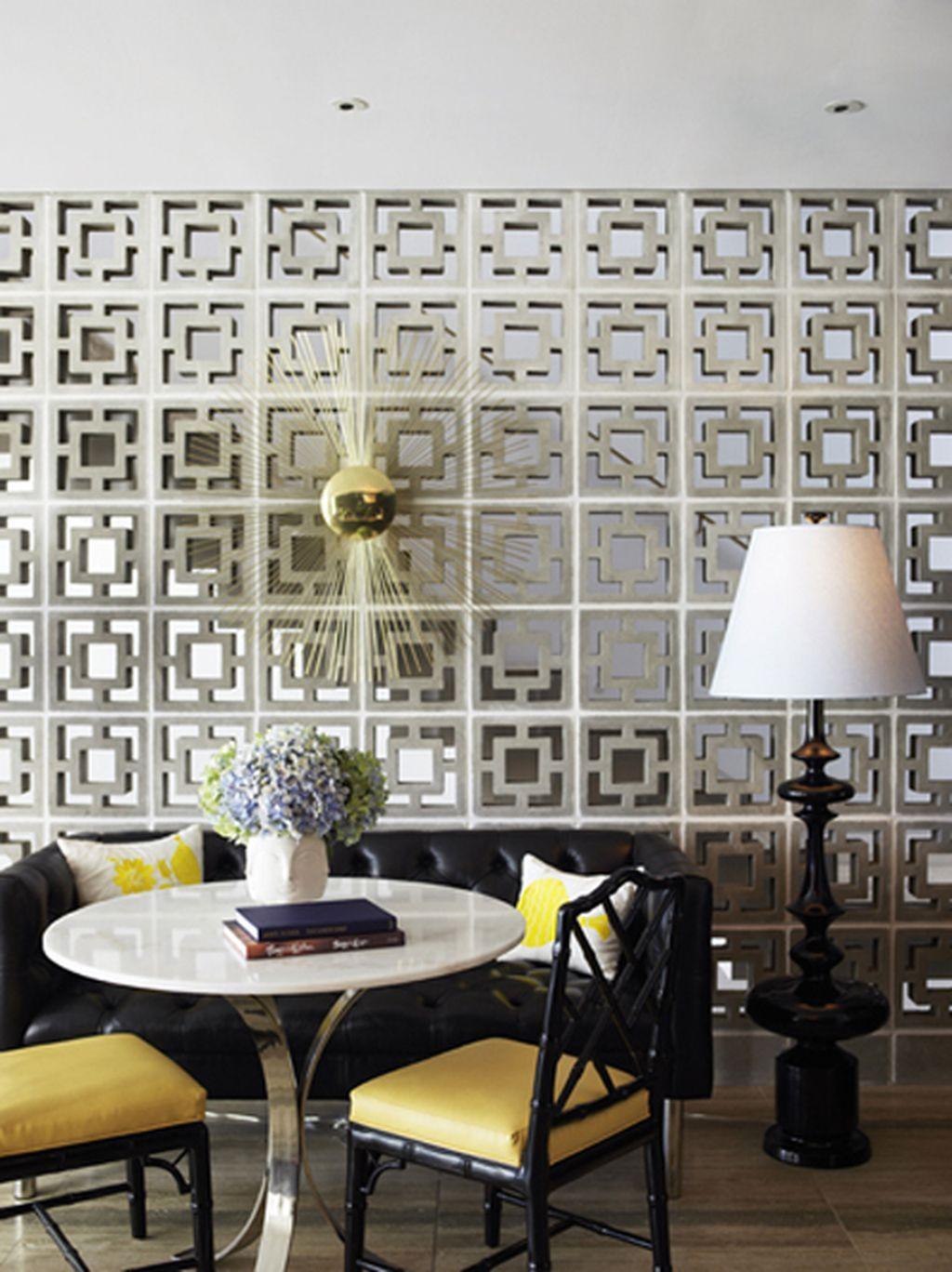 50 Breeze Block Wall Ideas Breeze Block Wall Decor Elegant Homes