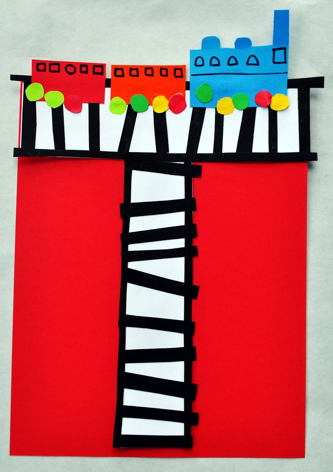 Letter T Crafts For Preschool Or Kindergarten