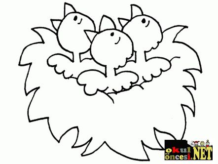 Spring Coloring Pages By Number