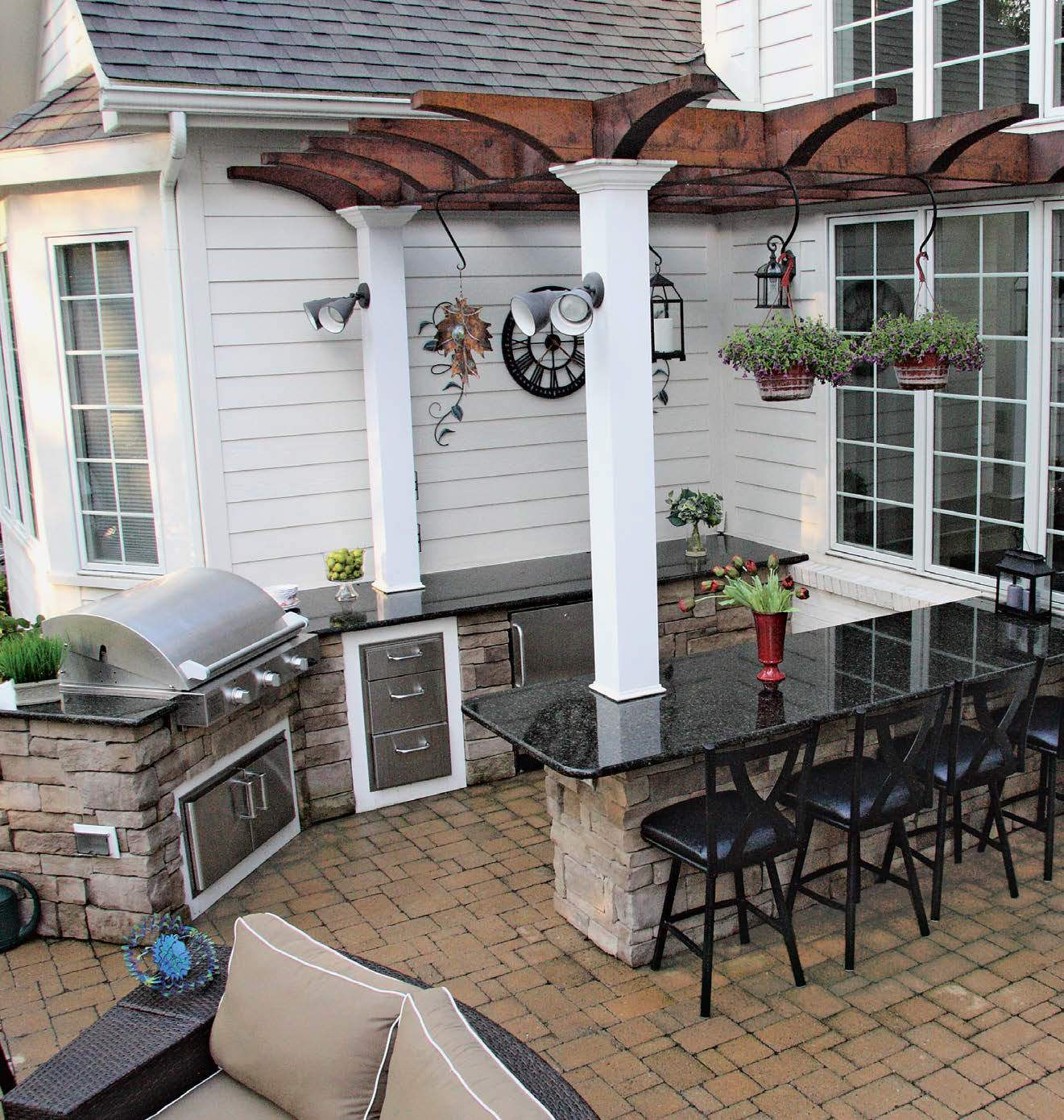backyard kitchen designs dining 135 outdoor ideas and for 2018 decorating check out these 100 as well discover the different types key features needed to create a proper