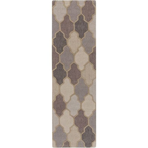 Pollack Morgan Gray Runner: 2 Ft 3 In x 12 Ft Rug - (In Runner)