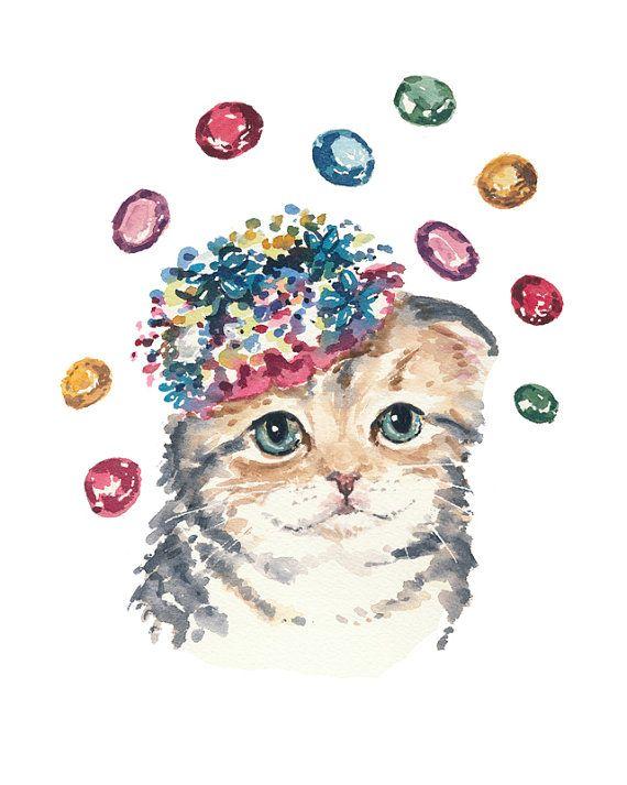 Pin By Yana Pshevoznitskaya On Cats In Art 3 Cat Art Animal