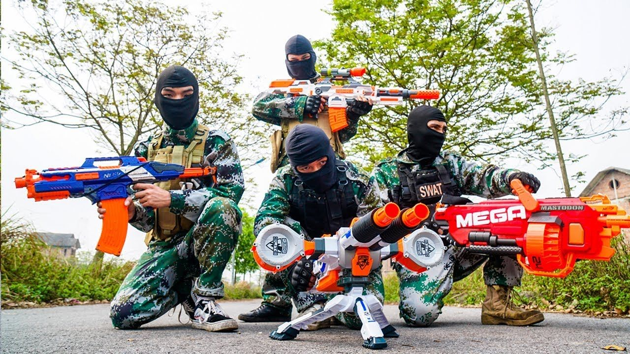 Build a Nerf War Battlefield for a Nerf War birthday party or a summer  filled with