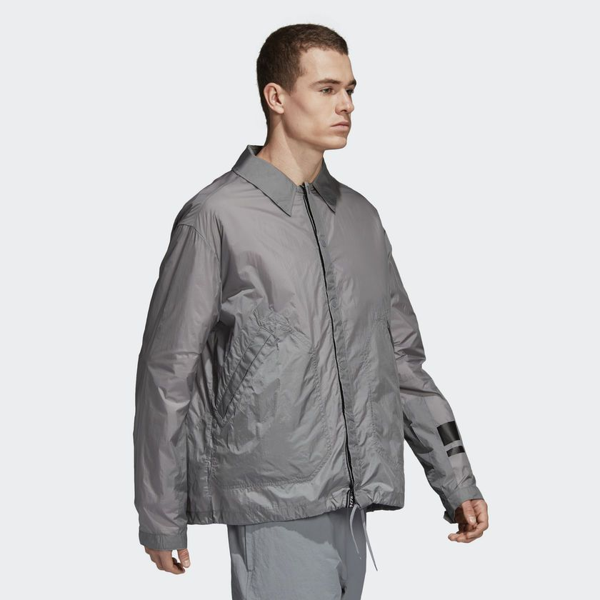 Adidas Originals Training Track Jacket, Grey | Highlights