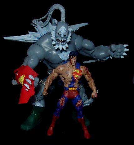 Superman Doomsday Ver 2 Dc Universe Custom Action Figure