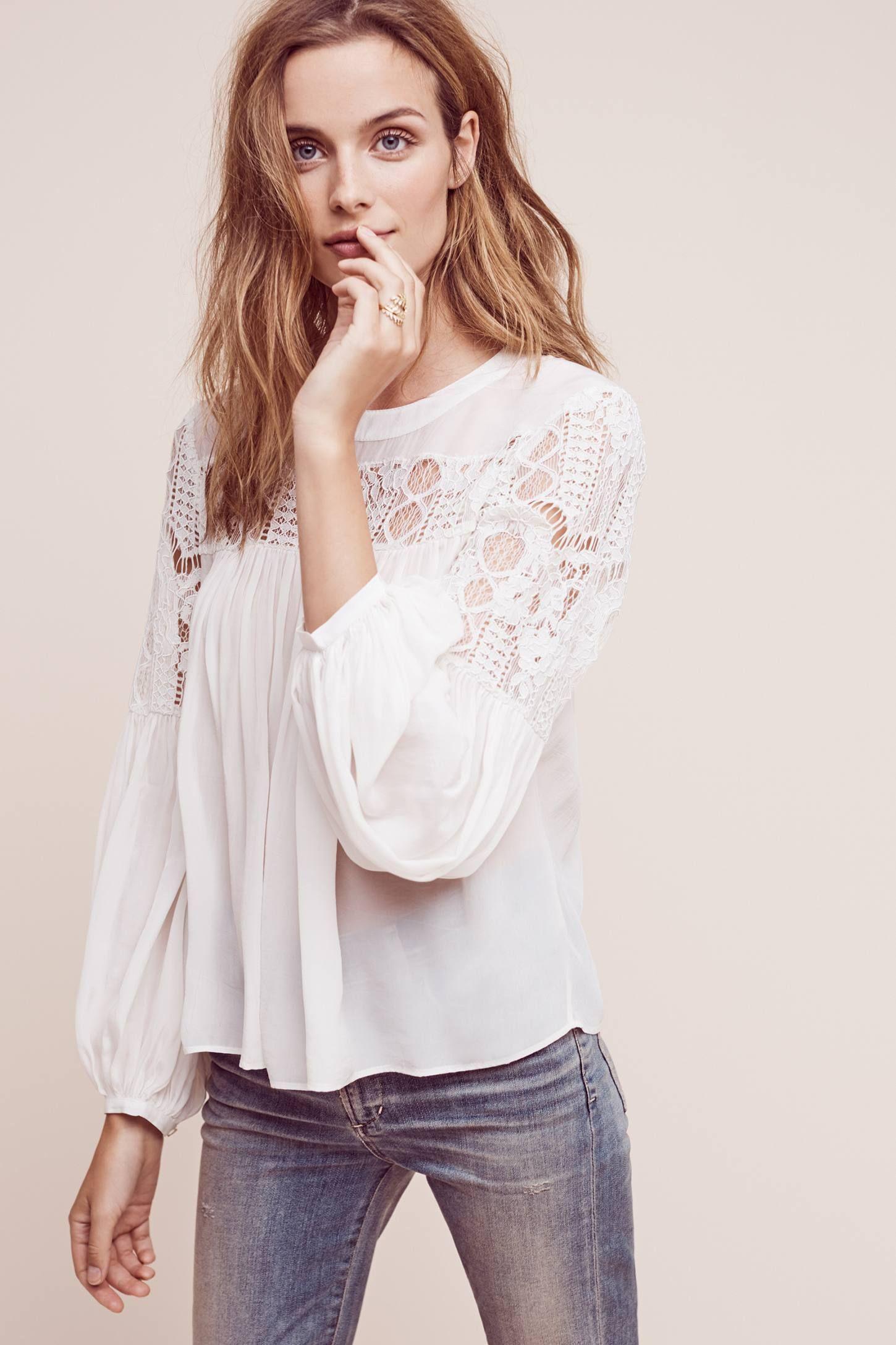50d08d5345d Magdalena Lace Blouse | To Top it Off | Lace, Blouse, Online fashion ...