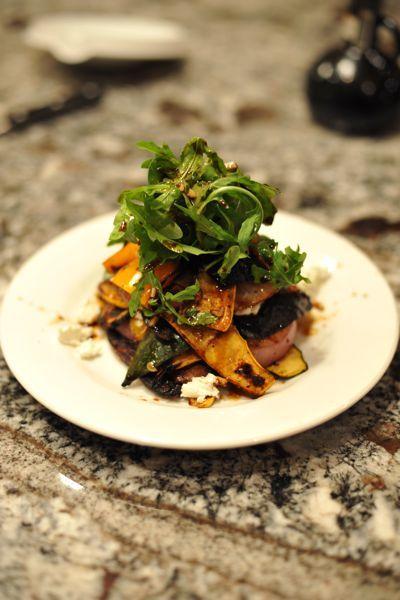 Veggie Napoleon Fooooooood Mmmmmm Pinterest Napoleon Food