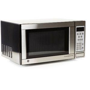 Ge 1 1 Cu Ft Capacity Countertop Microwave Oven Jes1142sj 99 Microwave Countertop Microwave Oven Microwave