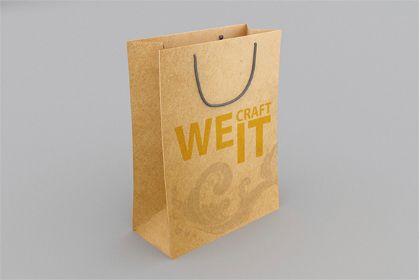 Download Shopping Craft Paper Bag Mockup Free Design Resources Bag Mockup Design Freebie Paper Crafts
