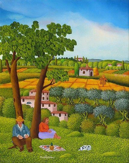 Italy ~ Cesare Marchesini ~ Colazione in campagna