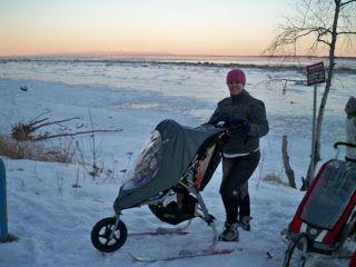 Kindershuttle ski kit + BOB Stroller | Ski Pulks | Bob