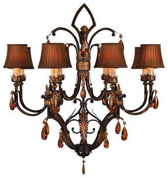 Brighton Pavillion Chandelier, 304040ST - traditional - chandeliers - Masins Furniture