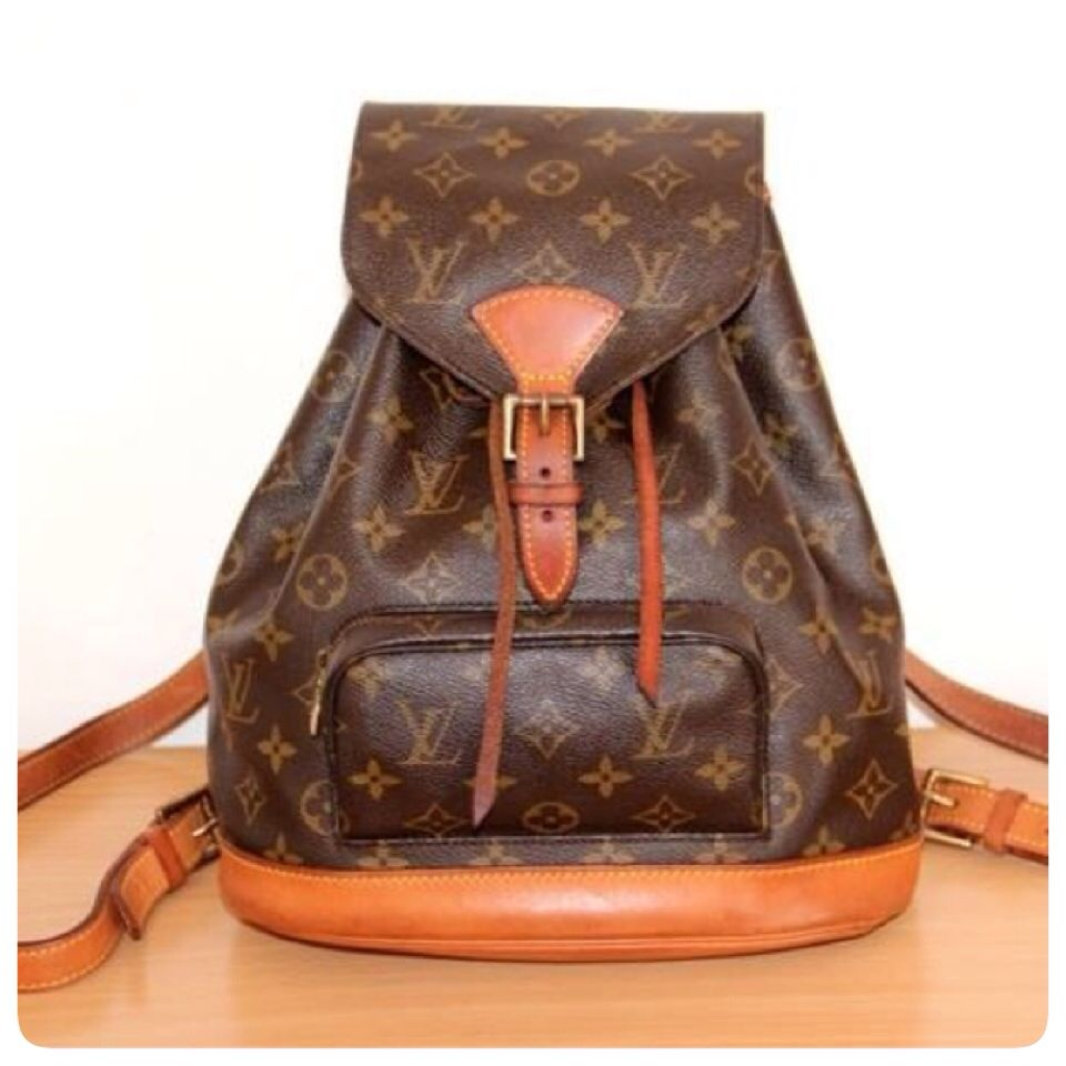 Louis Vuitton (Montsouris Backpack MM) ---    Bella monogram montsouris  zaino 4772d261324