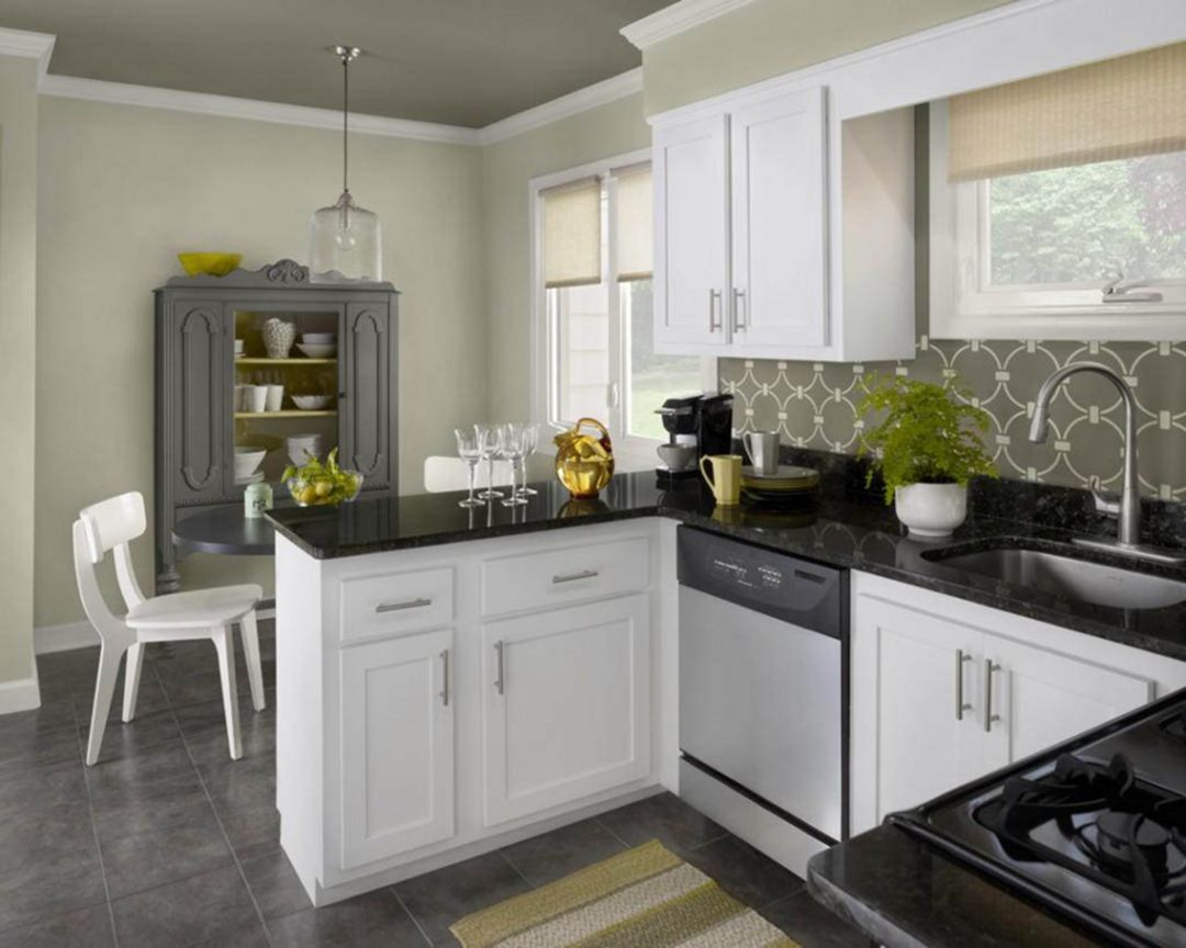 33 Most Popular Kitchen Cabinets Color Paint Ideas Trend 2019 Teracee White Kitchen Design Kitchen Cabinet Colors Kitchen Design Small