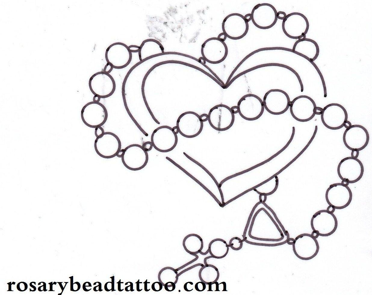 Heart tattoos designs - Cross With Heart Tattoo Design Tattooshunt