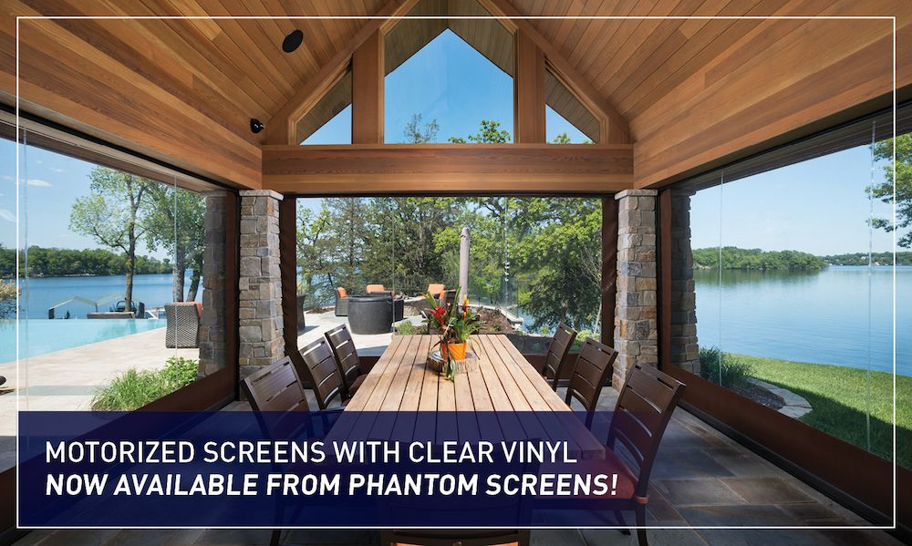 Motorized Retractable Vinyl Wall Screens Optimize Your Usage Of Outdoor  Living Spaces. Relax And Entertain