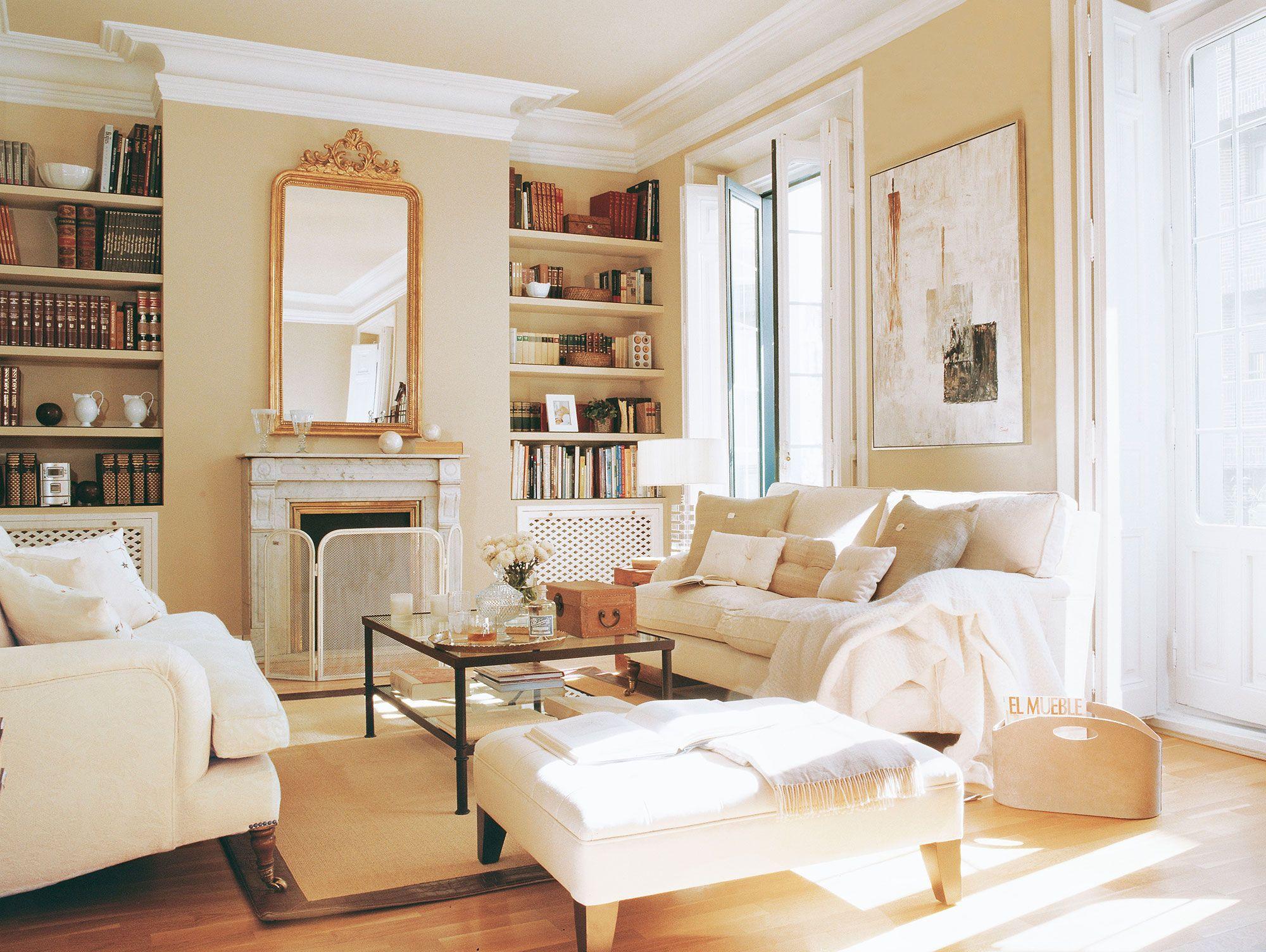 37 un sal n moderno y sencillo salas y salones for Salones modernos pequenos