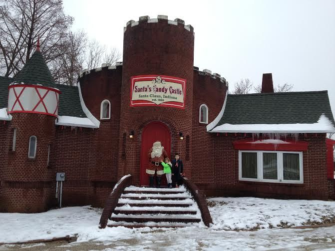 Weekend Getaway To Santa Claus In Review Of Lake Rudolph Campground And Rv Resort Louisville Family Fun Holiday World Indiana Lake Rudolph Santa Claus Indiana