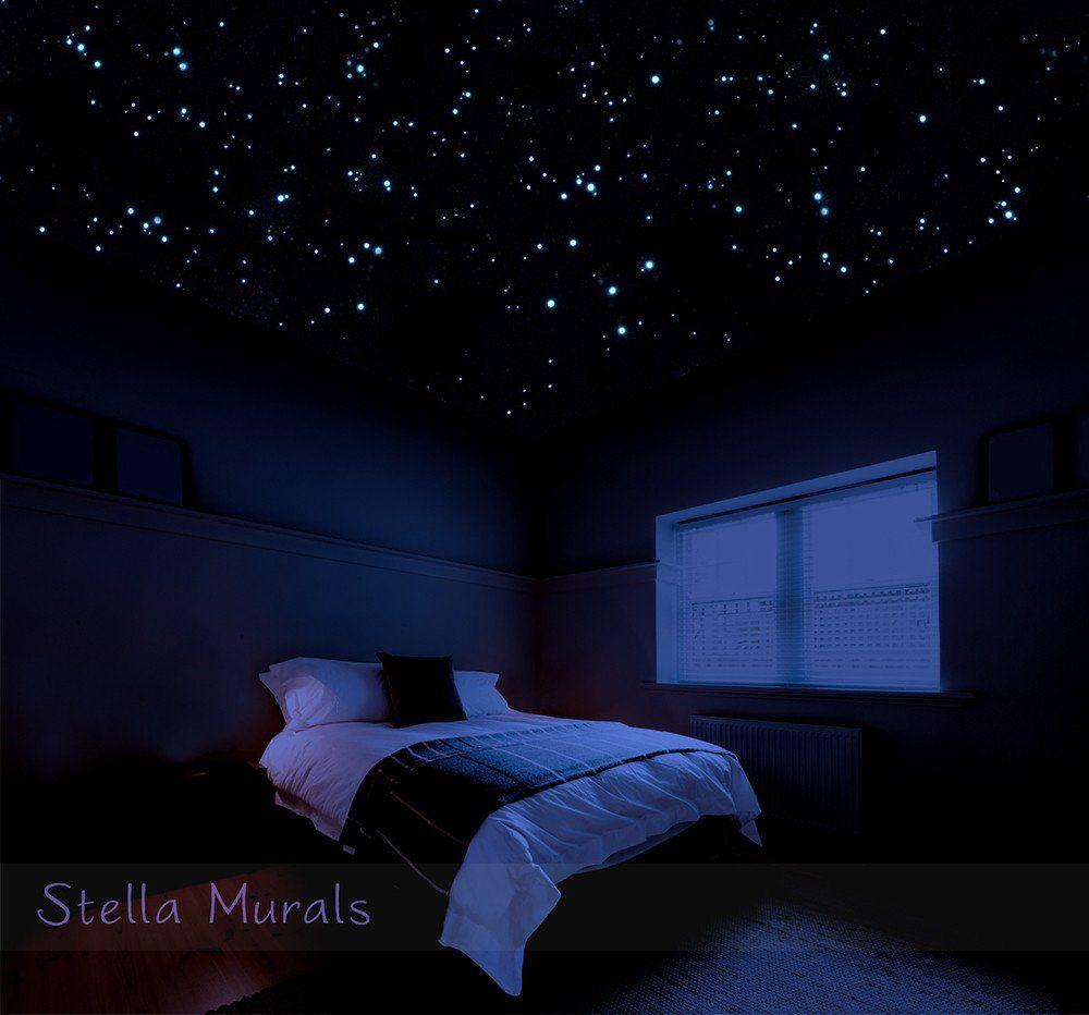 Glow in the Dark Star Stickers for a Realistic Night Sky