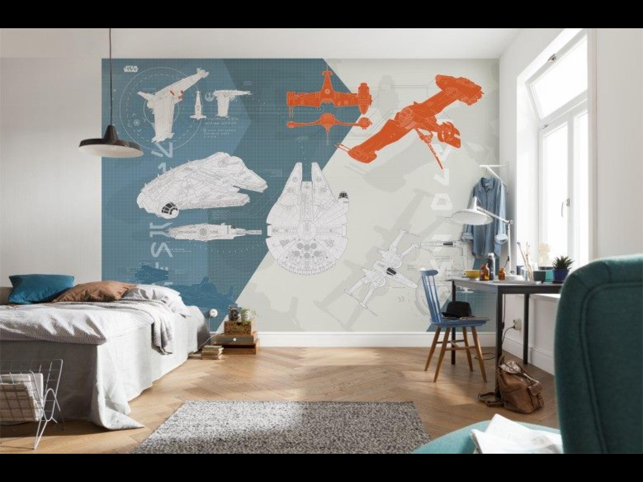 Prekrasnye Novye Star Wars Fotooboi Ot Komar Products Iz Germanii Wonderful New Star Wa Star Wars Kids Room Star Wars Wall Mural Star Wars Wall Decal