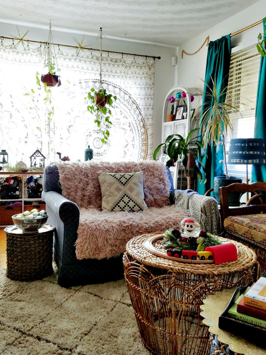 The Boho Abode Winter Eclectic Home Tour