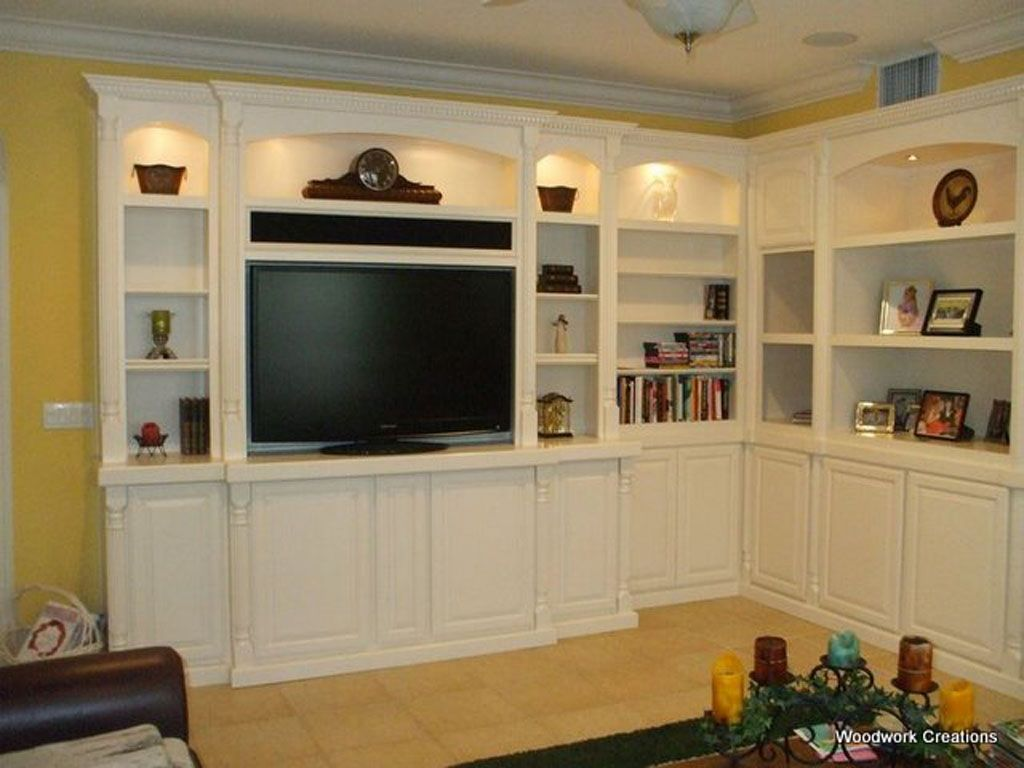 Custom Entertainment Centers Built In Wall Units Entertainment