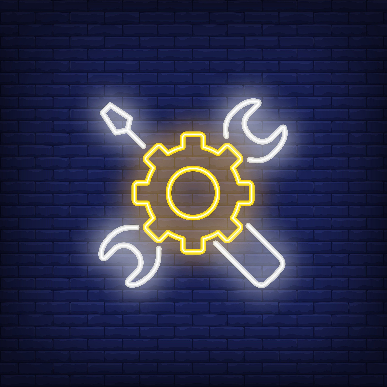 Service Logo         Neon Led