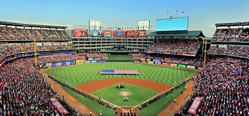 Globe Life Park Home Of The Texas Rangers Will Sell Two Pound Chicken Strips This Season Texas Rangers Rangers Game Texas Rangers Game