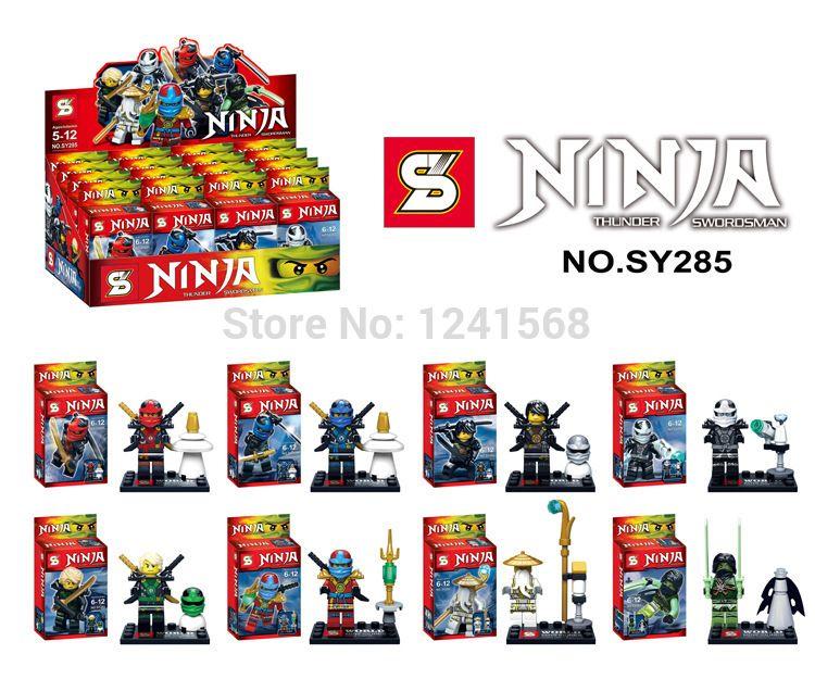 Super Heroes Minifigures Star Wars Ninjago Avengers Action Figures