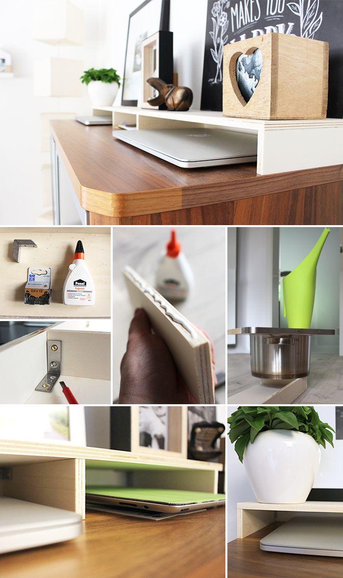 Alte wohndesign bilder diy gingered things plywood organize laptop organisieren