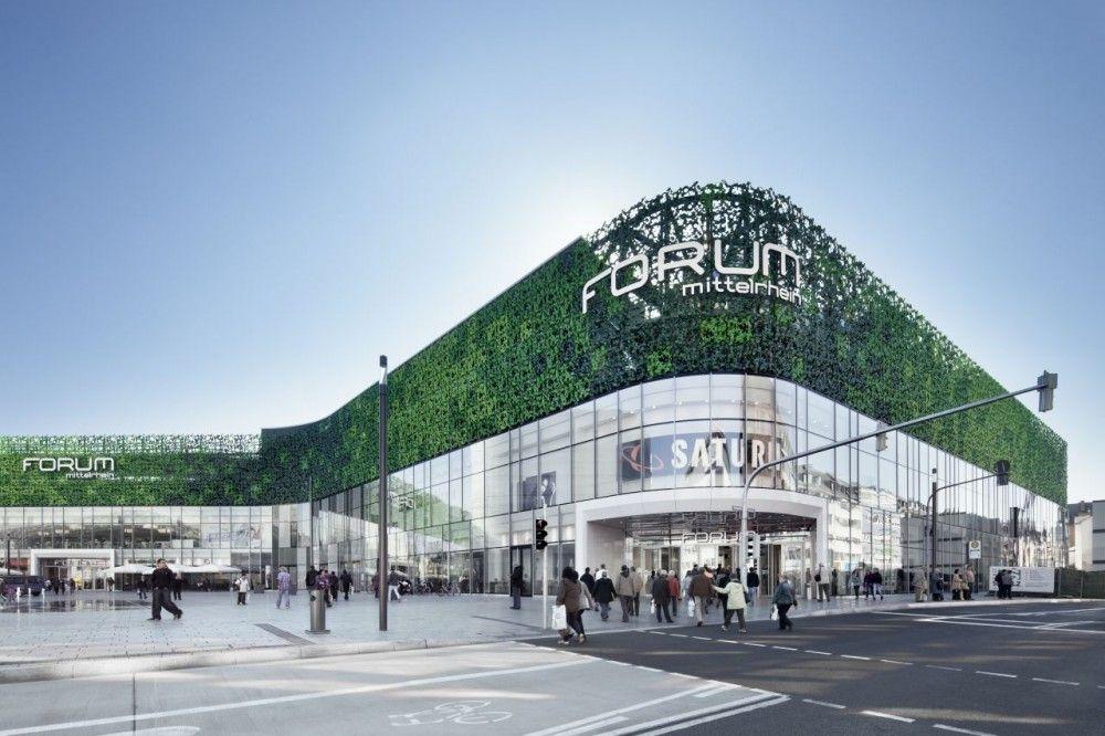 Gallery of kulturbau and mall benthem crouwel architects for Shopping mall exterior design