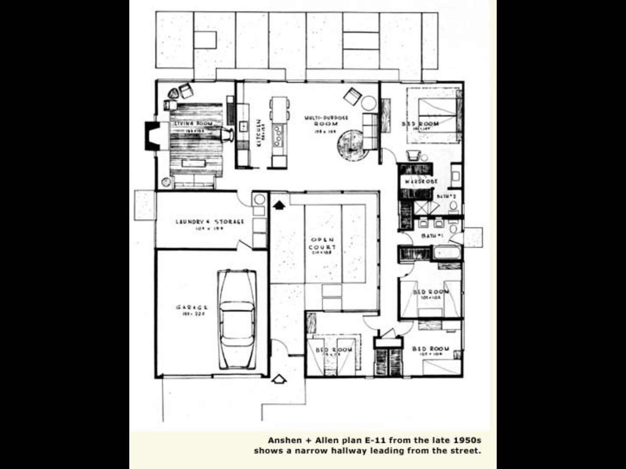 Eichler Floor Plan How To Plan Floor Plans Eichler Homes