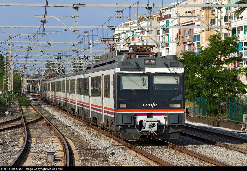 187m Renfe Ut 470 At Castelldefels Barcelona Spain By Marcos