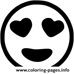Print Emoji Black And White Coloring Pages Emoji Coloring Pages Emoji Heart Eyes Emoji Pictures